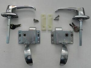 RV TEARDROP TRAILER FRONT LOCKING DOOR HANDLE LATCH KIT   eBay