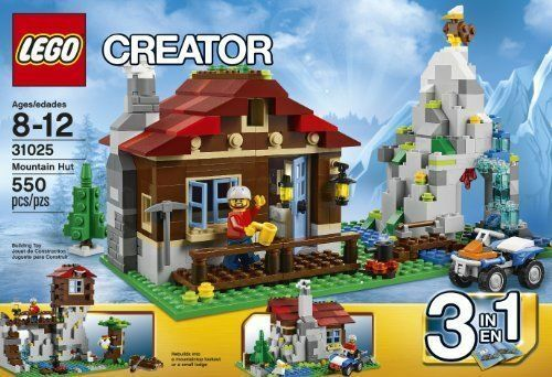 LEGO Creator 3 in 1 Mountain Hut 31025 New Still Sealed Cabin House Outdoors Toy