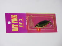 Bagley Rat Fink Rf 1 Top Water Fishing Lure Rare Color 79g2 Blue/chart On Gold