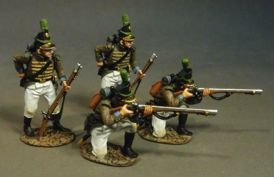 John Jenkins Halbinsel Krieg 1807-1814 CAZ-03WN Cazadores Ladung & Brennen  3