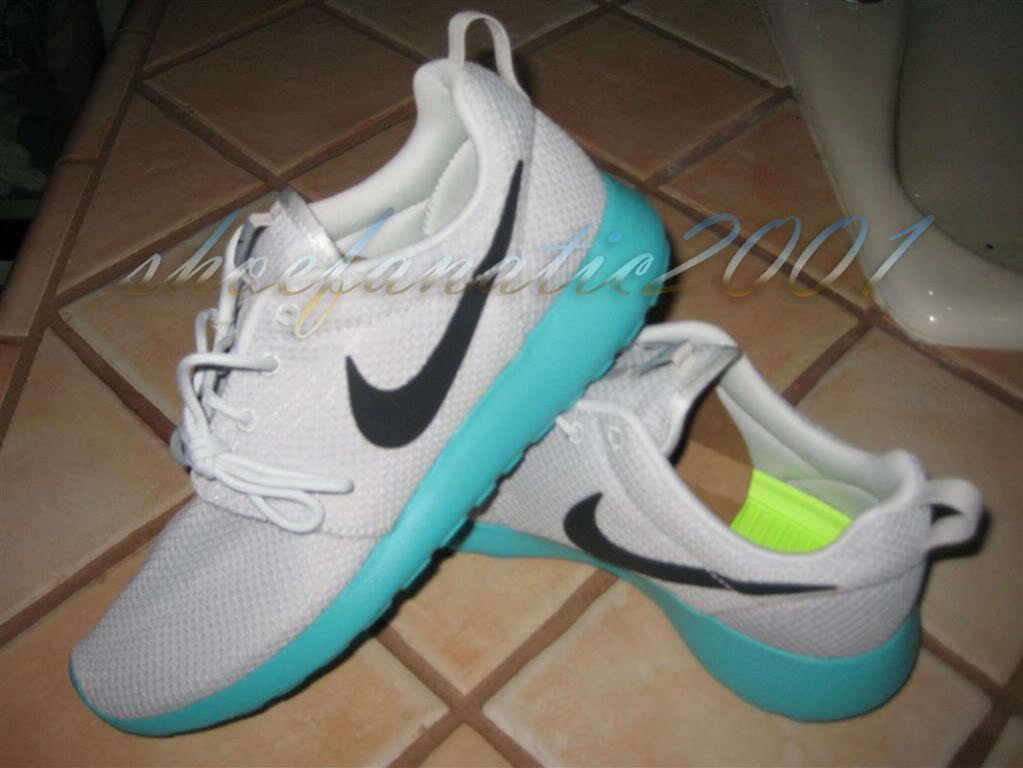 Nike Roshe Run Pure Platinum Clypos SB Supreme 7.5 Original Running