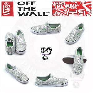 9e41bf147a Image is loading VANS-Era-Overspray-True-White-M09