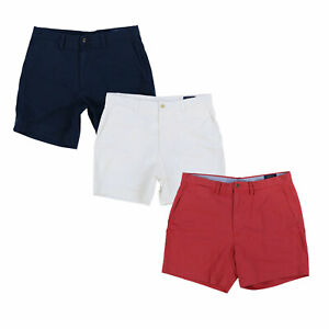 Polo-Ralph-Lauren-Mens-Shorts-Classic-Fit-6-Inch-Flat-Front-Casual-Bottoms-New