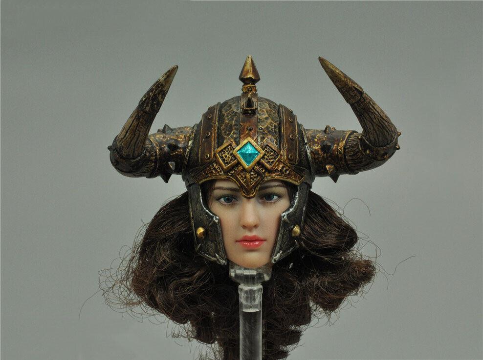 """TBLeague PL2020-162 1//6 Scale Viking Woman Shield Model for 12/"""" Figure"""