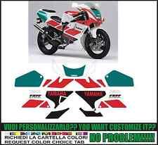 kit adesivi stickers compatibili  tzr 250 r 3xv 1991