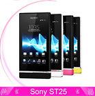SONY Xperia U ST25 ST25i(Unlocked)8GB 3.5'' 5MP Android OS WiFi GPS 3G
