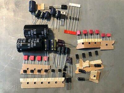 Pioneer SX-434 Complete Rebuild Kit High-Quality Receiver Recap Caps Transistors