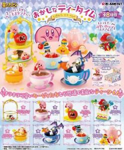 Re-ment-Kirby-Super-Stella-Mini-Figura-di-Kirby-Te-Festa-Tutti-8-Set-JP