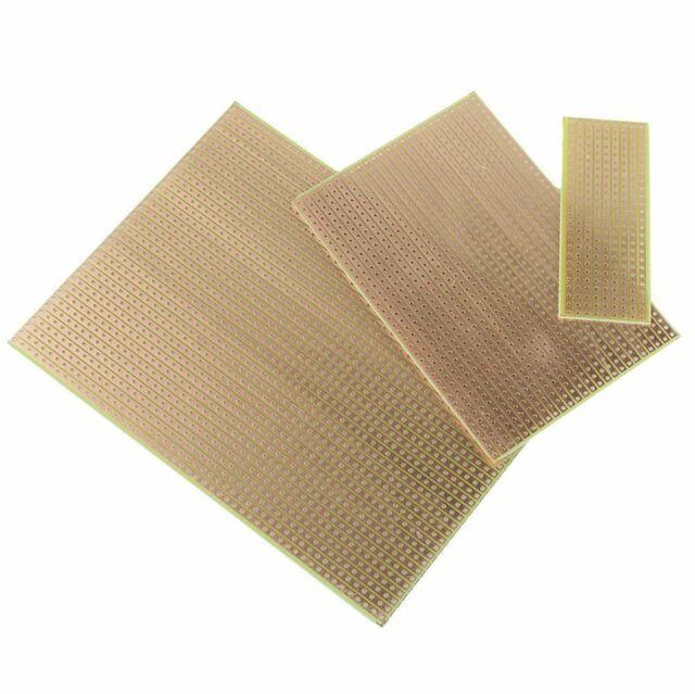 5pcs Strip Board Printed PCB Circuit Board Vero Prototyping Track Stripboard
