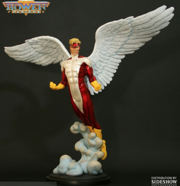 ANGEL YELLOW STATUE (LIMITED 200) BY BOWEN DESIGNS, SCULPTED BY MARK NEWMAN
