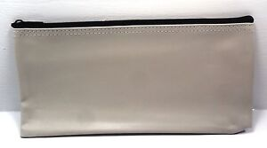 11 X 5 Zippered Bank Bags In Gray 4