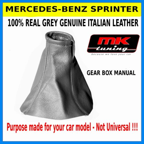 MERCEDES SPRINTER GEAR GAITOR REAL LEATHER NEW GREY