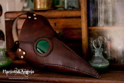 Leather Work Sewing Pattern Plague Doctor Mask Assassins Creed Role Playing