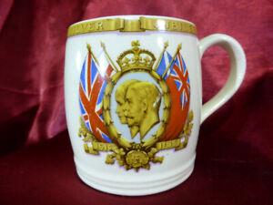 Vintage-Silver-Jubilee-MUG-King-George-V-Queen-Mary-1910-35-Royal-Memorabilia-V2