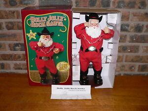 Alan Jackson Christmas.Details About Animated Holly Jolly Rock Santa Christmas Holiday Figure Plays Alan Jackson Song