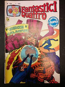 I-Fantastici-Quattro-4-numero-188-Editoriale-Corno-CON-ADESIVI