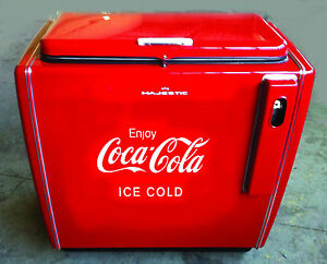 STICKER-LOGO-COCA-COLA-ice-cold-OLD-FRIDGE-VIEUX-FRIGIDAIRE-Kuhlschrank