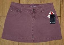 "Bnwt Womens Oakley Denim Mini A Line Skirt UK8 W27"" Flint New"