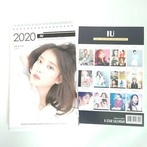 Iu Calendar 2020 IU Photo 2020 2021 Desk Calender Calender KPOP Calendar New Year