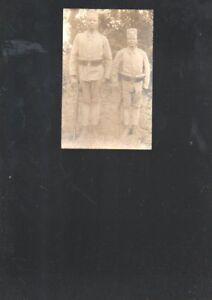 n15530-Foto-Ansichtskarte-Deutschostafrika-der-groesste-und-der-kleinste-Askari-un