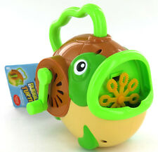 Wind-Up Turtle Bubble Machine Blower Machine Outdoor Kids Summer Toy