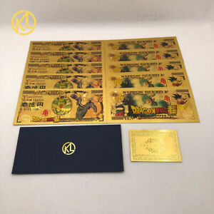 DRAGON BALL BANKNOTE BILL PLAY PAPER MONEY COLLECTABLE COMMEMORATIVE 20 Pcs