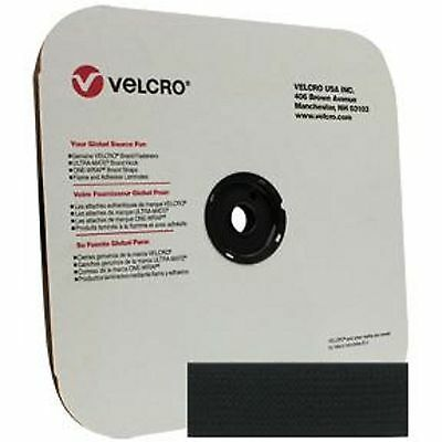 "2/"" Velcro Hook Black Tape Nylon Sew On 1 Roll 50 yard roll"