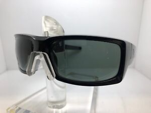 ea508592a076b Image is loading AUTHENTIC-SPY-SUNGLASSES-GENERAL-GLOSSY-BLACK-HAPPY-GREEN-
