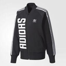 huge selection of ea15f 8541b adidas Originals Women Trefoil Bold Age Track Jacket Stripes Superstar  Hoodie XS