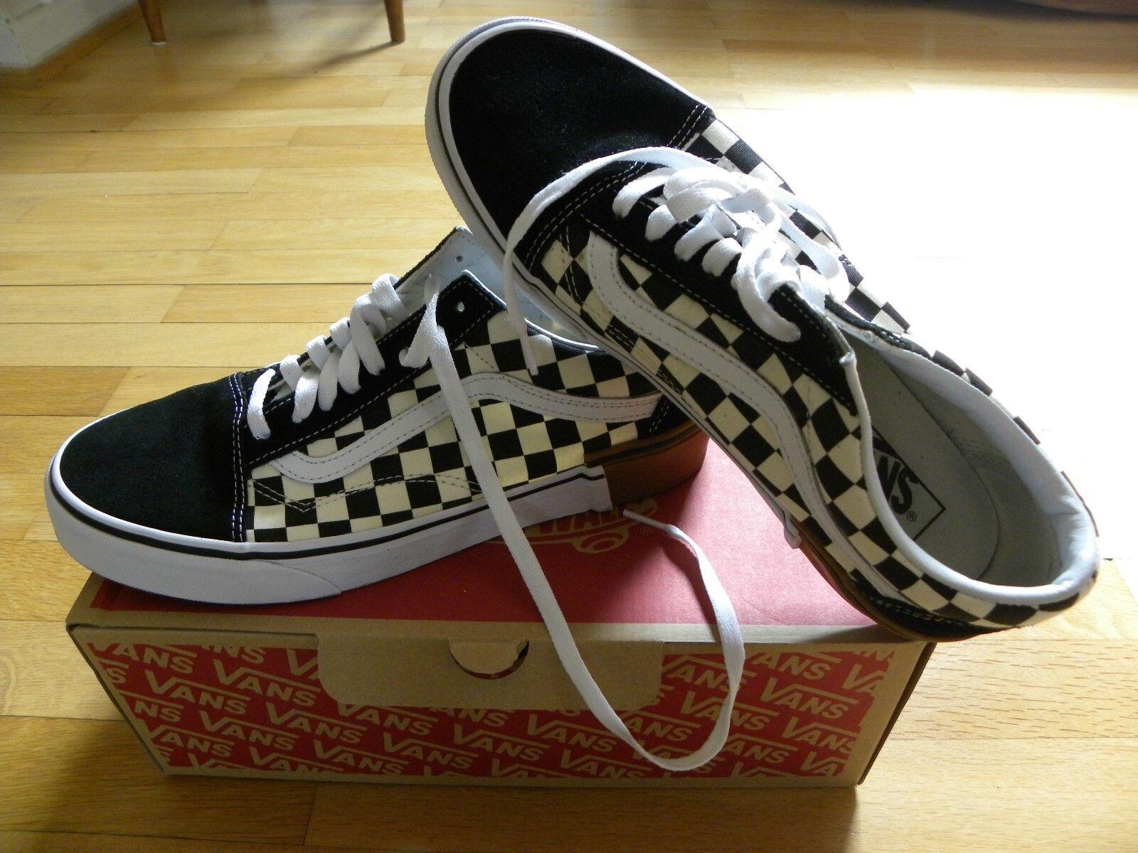 Vans Old Skool checkerboard MIS. 42.5 Uomo Sneaker