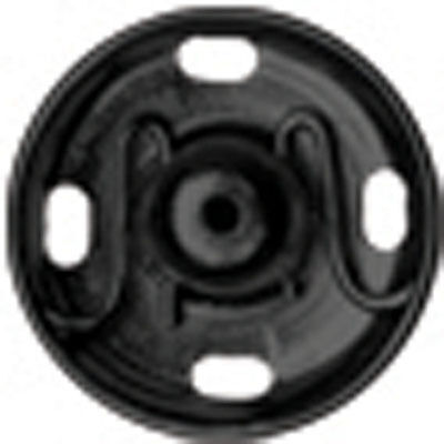 Black Hemline Sew On Snap Fasteners 6mm