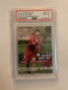 2018-Topps-Now-Shohei-Ohtani-Road-To-Opening-Day-PSA-10