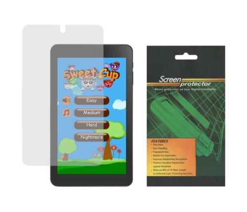 """2X Clear Screen Protector Guard Shield Film for Alcatel Onetouch Pixi 7/"""" 9006W"""