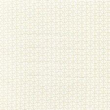 Fabric Dog Bones Stripes Full Cream on Cream Cotton 1 Yard S
