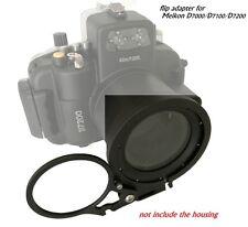 Underwater M67  Wet Lens holder Mount adapter for Meikon D7000/D7100/D7200
