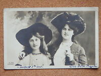 R&L Postcard: Stage Theatre Actress, Miss Phyllis & Zena Dare