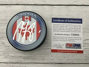 Marc-Staal-Signed-Autographed-Team-Canada-Hockey-Puck-PSA-DNA-COA-a