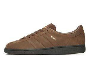 Brown In Box Black Distressed Originals Leather Munchen 6 uk New Adidas Gum qwEBva