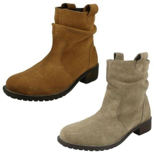Stivali Medio Stile Tacco Collection Leather Donna Trasandato qpUT1n