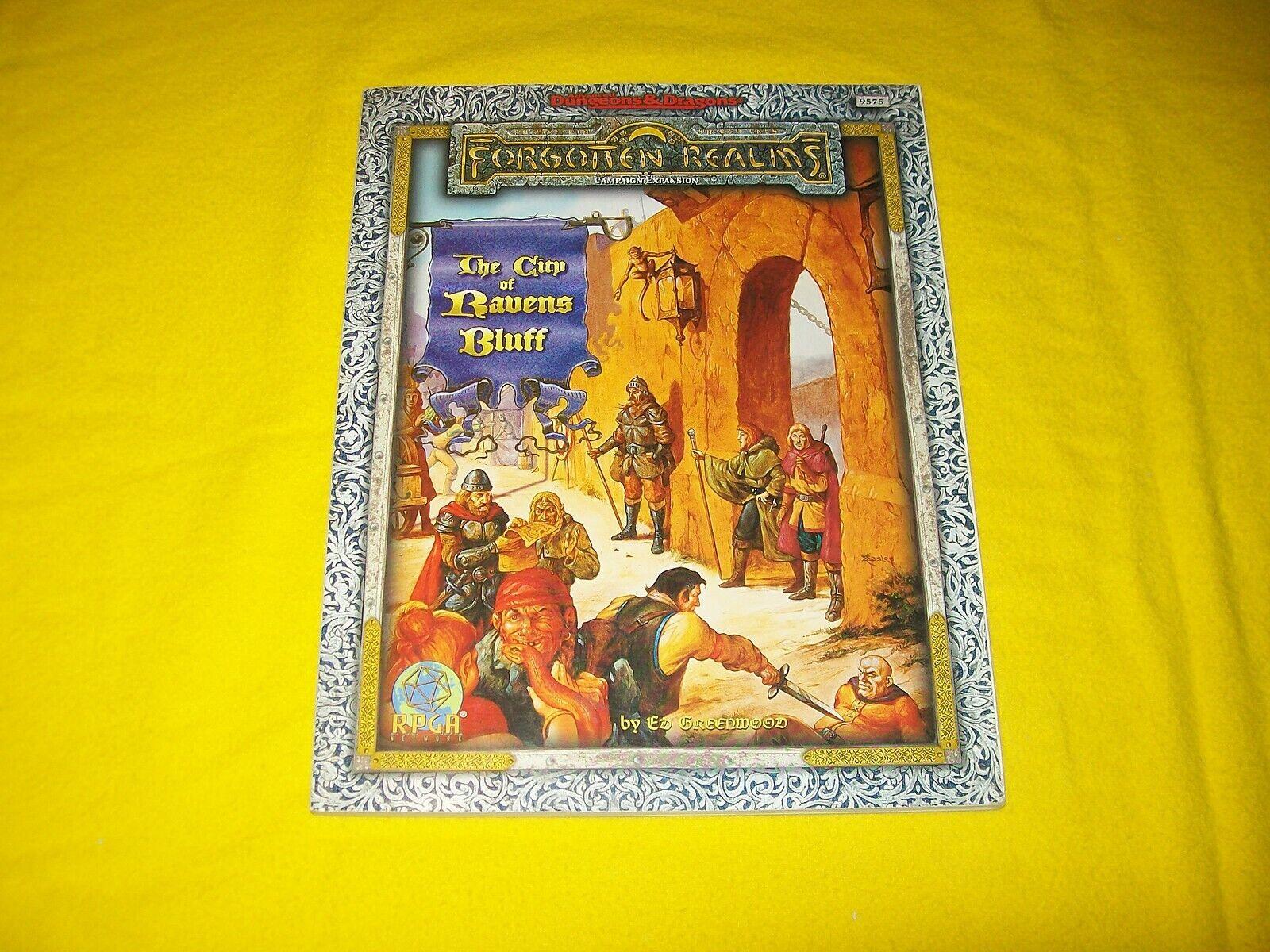 La ciudad de cuervos azulff Dungeons & Dragons Ad&d Forgotten Realms TSR 9575 - 3
