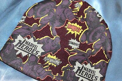 (rif. 12) Marvel Heroes Con Elastico Ragazzo Cappello Grafica Fumetto Ufficiale Bambino 2009-mostra Il Titolo Originale