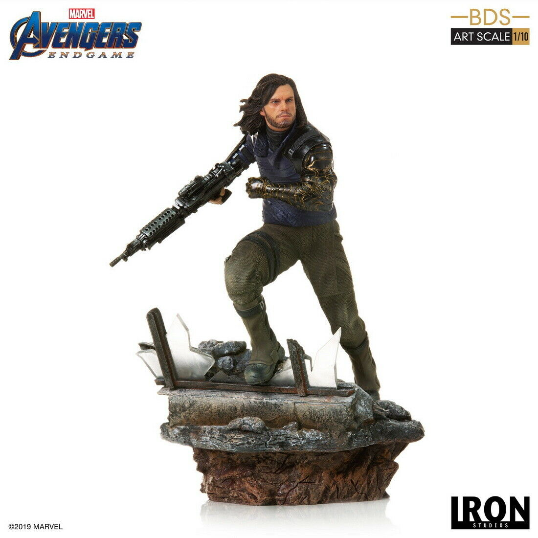 Iron Studios Avengers: Endgame Winter Soldier BDS Art 1/10 Statue on eBay thumbnail