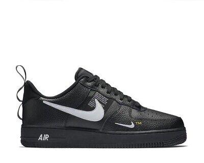 Nike Air Force 1 Low LV8 Utility Black Yellow UK 3 US 3.5Y EUR 35.5 Off White OG | eBay