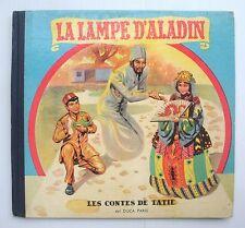 Livre ancien La lampe d'Aladin Les contes de Tatie Del DUCA PARIS