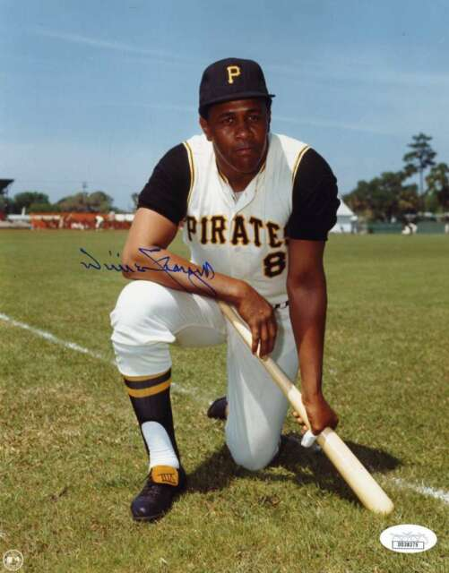 Willie Stargell Jsa Autograph  8x10 Photo Authentic Hand Signed