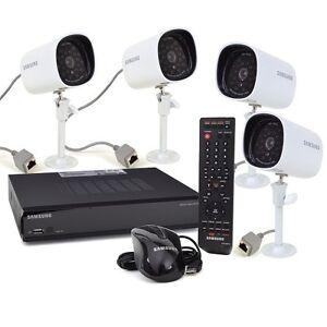 Samsung-SDE-3003N-4-Channel-1TB-DVR-Security-System-amp-4-Night-Vision-Cameras