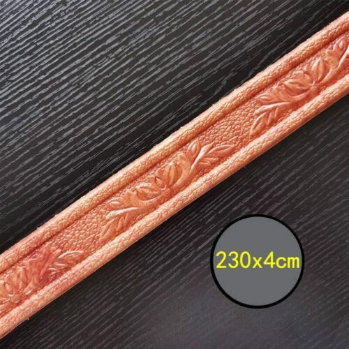 5 x Self Adhesive Wall Skirting Border 3D Floral Sticker Wallpaper 230*4cm Decor