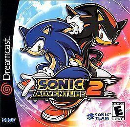 Sonic Adventure 2 Sega Dreamcast 2001 For Sale Online Ebay