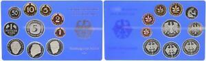 BRD Kurssatz Einzelplatte 2000 J 1Pf. bis 5 DM Polierte Platte 55670