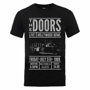 Men-039-s-The-Doors-Advance-Final-Black-T-Shirt-Unisex-Rock-Music-Tee